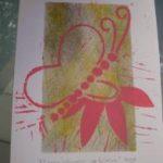 ~013 Elmy 'Vlinder op Bloem'