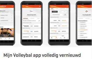 Vollverijs berichten nu ook op de app