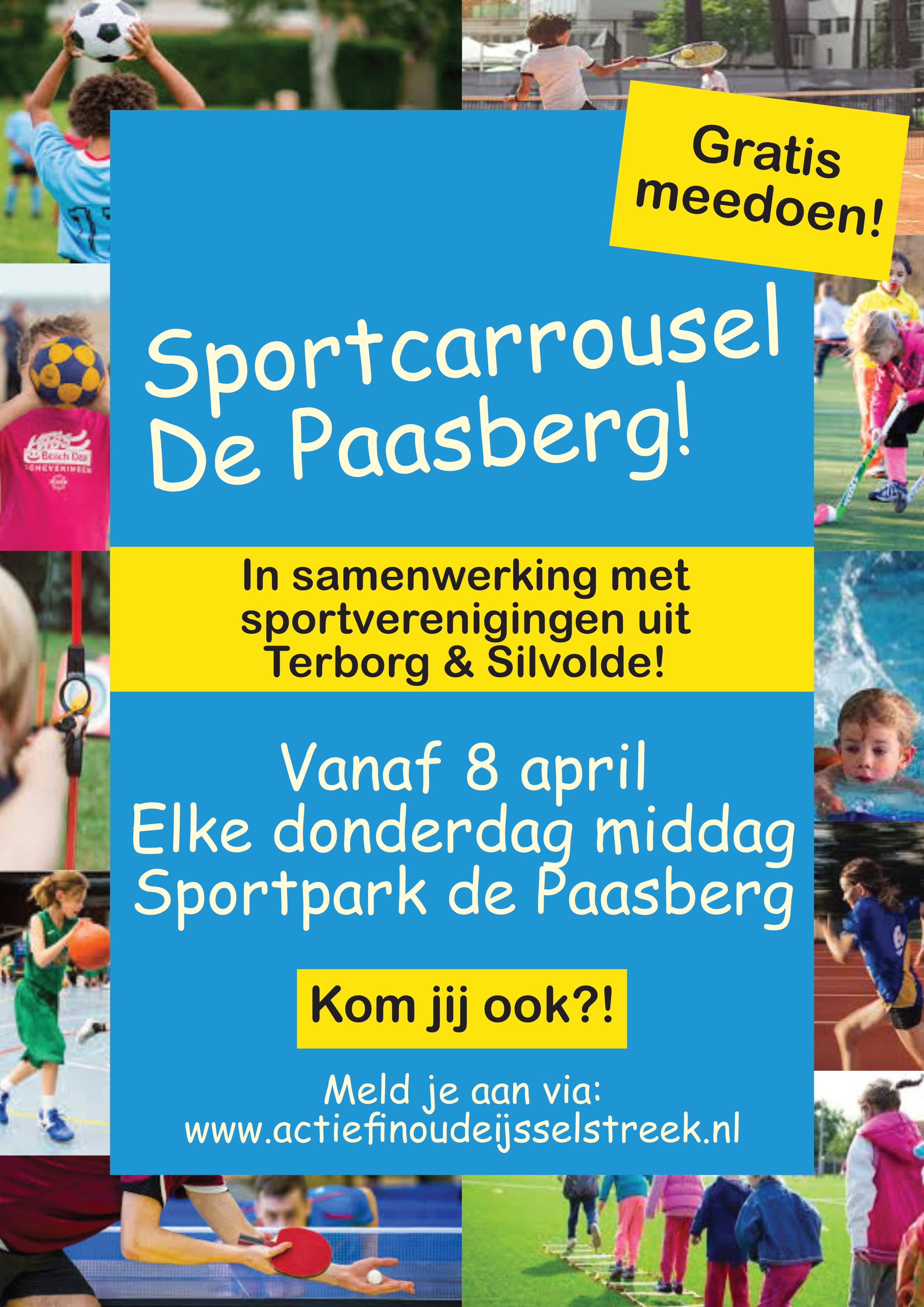 Poster sportcarrousel de Paasberg